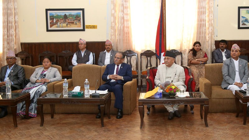 नेकपाकाे जिल्ला र स्थानीय तहकाे एकीकरण एकै चरणमा सक्ने तयारी
