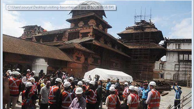 बसन्तपुरमा पर्यटकको लस्कर, एकै दिन १३ लाख आम्दानी
