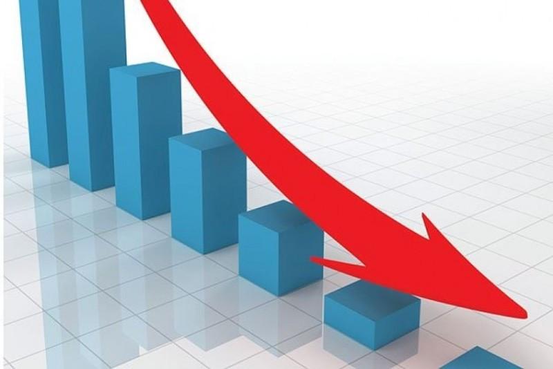 शेयरको मूल्य  सात अङ्कले घट्यो