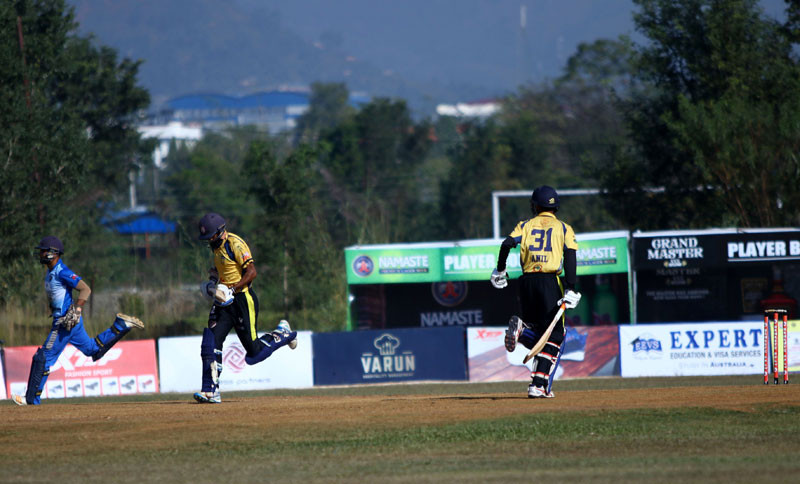 पीपीएल क्रिकेटकाे उपाधि पोखरा पल्टनले जित्याे