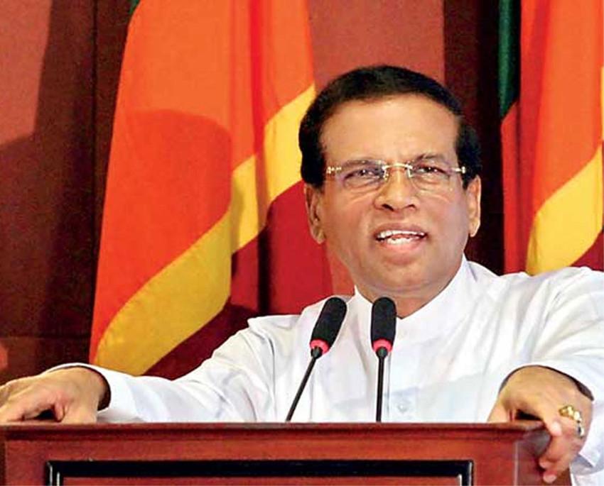 श्रीलंकाकाे संसद बैठक नोभेम्बर १४ मा बस्ने