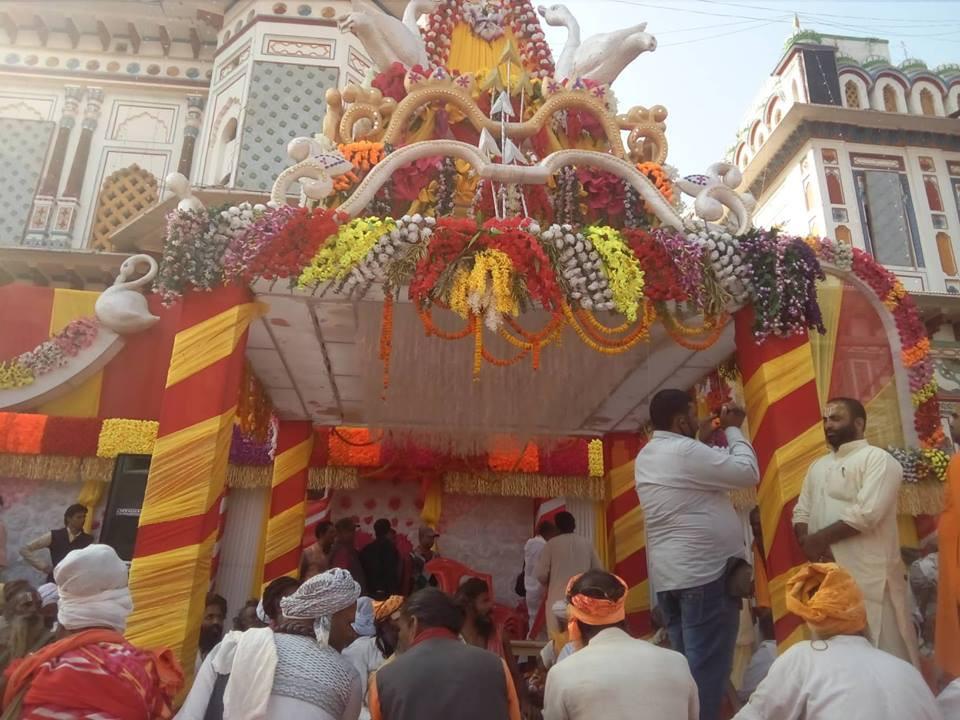 रामजानकी  विवाह महाेत्सवः जन्ती बिदाईको तयारी
