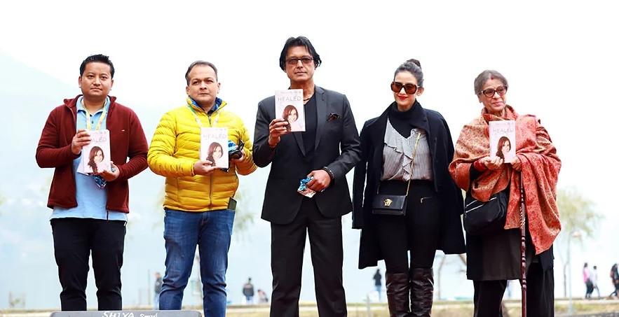 नेपाल साहित्य महोत्सवमा मनीषाकाे पुस्तक 'हिल्ड' सार्वजनिक