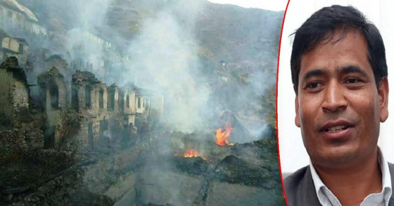 खाडागाउँका अग्निपीडितका  घर प्रदेश सकारले बनाइदिन्छ : मुख्यमन्त्री शाही