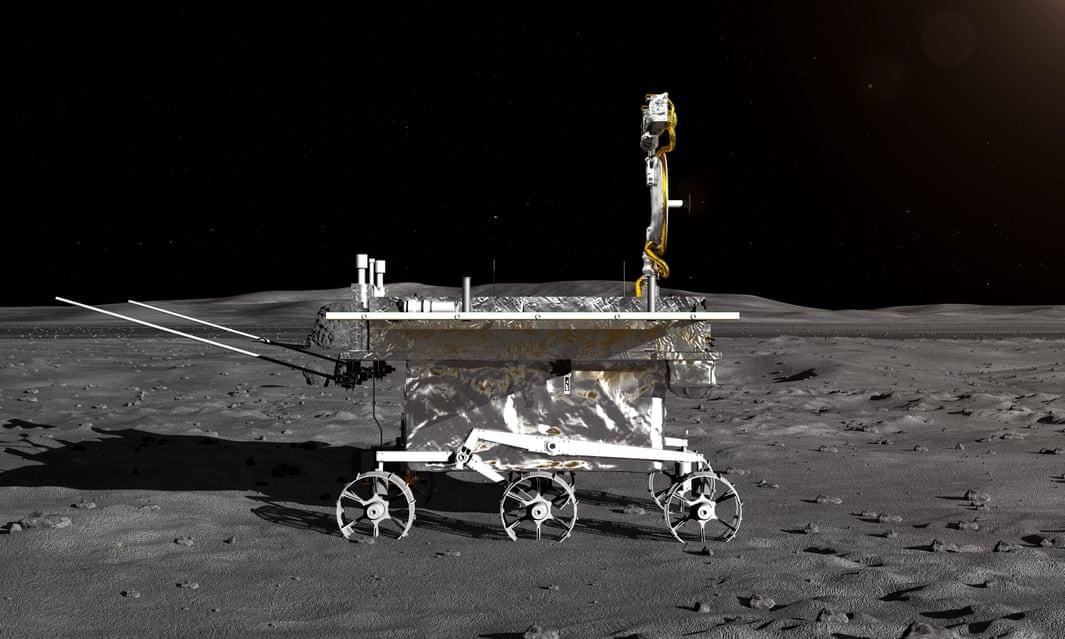 चिनियाँ यान चन्द्रमामा सफलतापूर्वक अवतरण