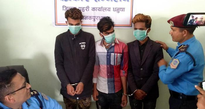 अपहरणमा परेकाे भन्दै आमासँग १५ लाख फिरौती माग्ने अजय प्रहरीको फन्दामा