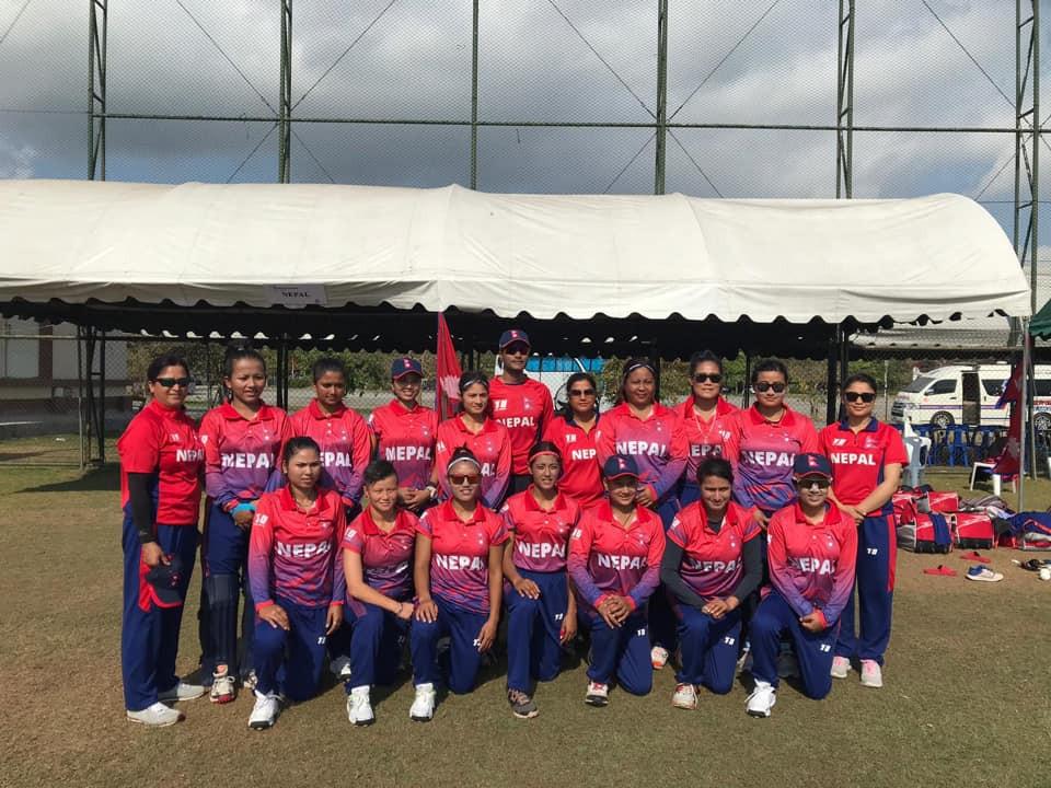 विश्वकप छनोटमा यूएईविरुद्द नेपाल ७ विकेटले विजयी