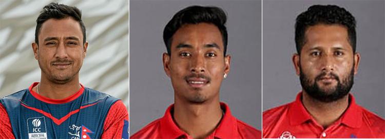 आइसिसी टि–२० वरियतामा नेपालका तीन खेलाडी