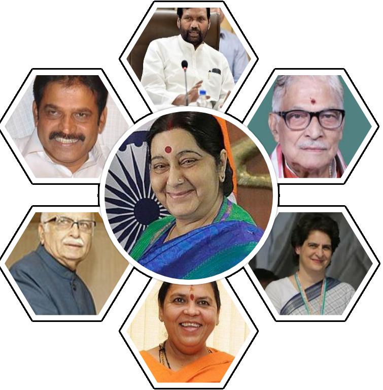 भारतीय लोकसभा निर्वाचन :  कुन ठूला नेताले चुनाव नलड्ने भए ?