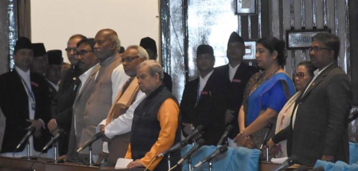 राजपा नेपालद्वारा प्रतिनिधिसभा बैठक अवरुद्ध