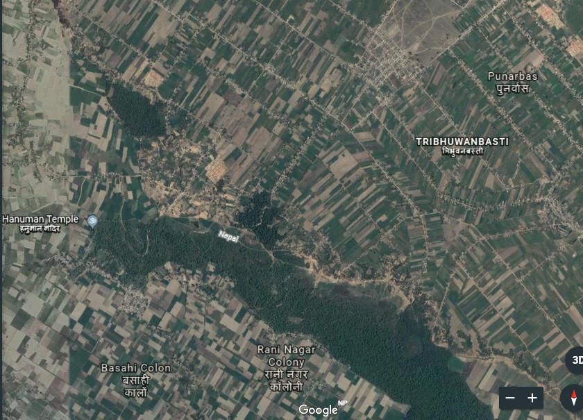 पुर्जा नेपालीसँग, जमीन भारतीयको कब्जामा