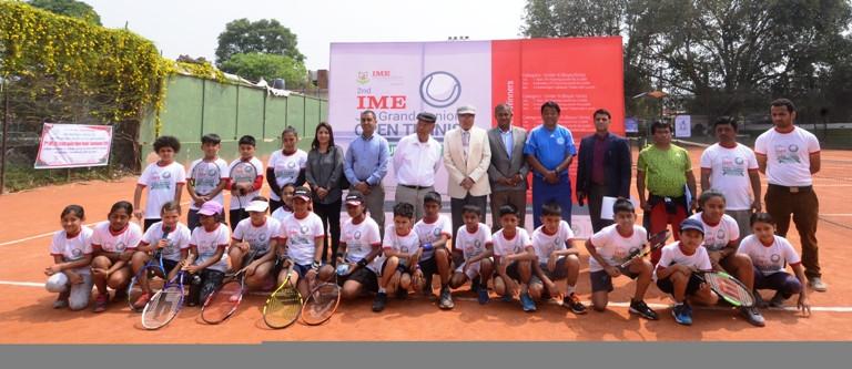 आइएमई जुनियर एकल टेनिस शुरु