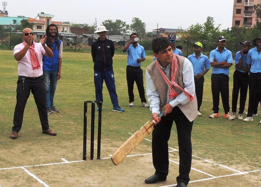 राष्ट्रिय क्रिकेट प्रतियोगिता भैरहवामा सुरु