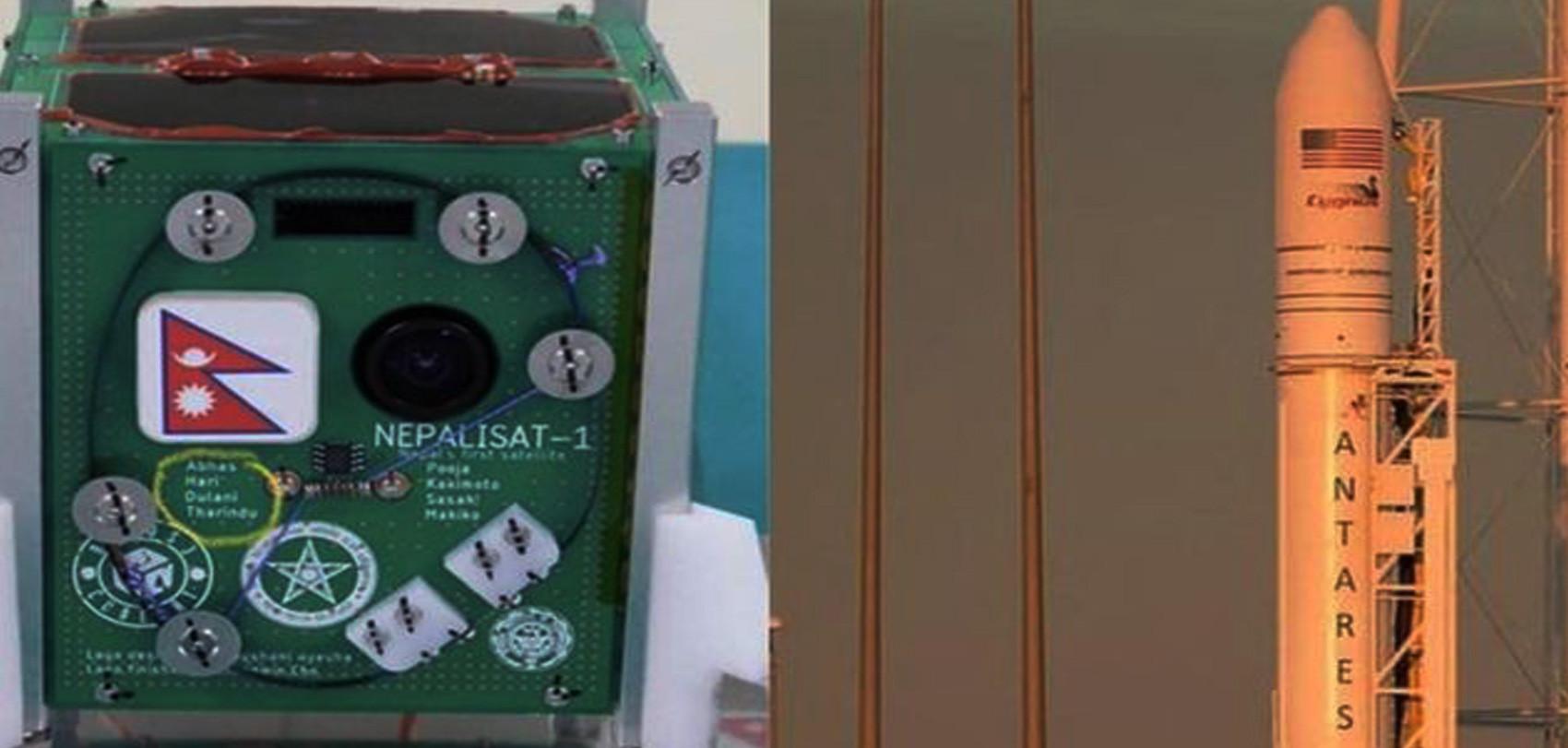 अन्तरिक्ष कक्षमा पुग्यो नेपाली भूउपग्रह