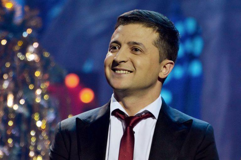 युक्रेनमा हाँस्यकलाकार जेलेन्स्की राष्ट्रपतिमा निर्वाचित